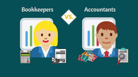 Bookkeepers vs. Accountants (Which one do you need?)