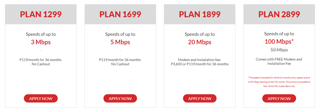 pldt business plan 3mbps